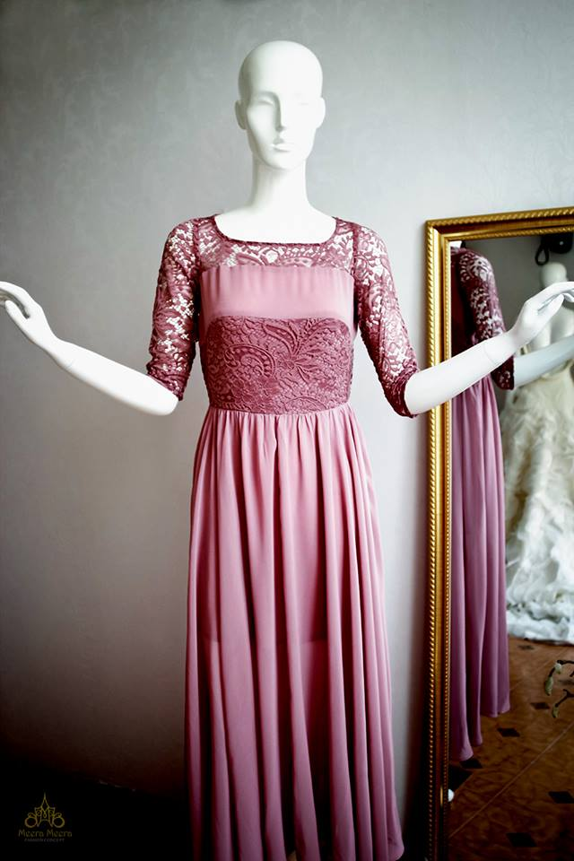 May áo cưới- Đầm dạ tiệc đẹp tại Sài Gòn- Đầm dạ tiệc dáng dài Mã 1010