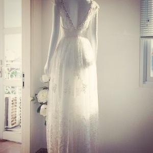 Áo cưới đính hạt đá phong cách Pháp lãng mạn