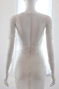 Áo cưới đuôi cá sexy - Chất liệu ren nổi sang trọng- đính kết bằng tay tinh tế- Form dáng chuẩn mực KH1162