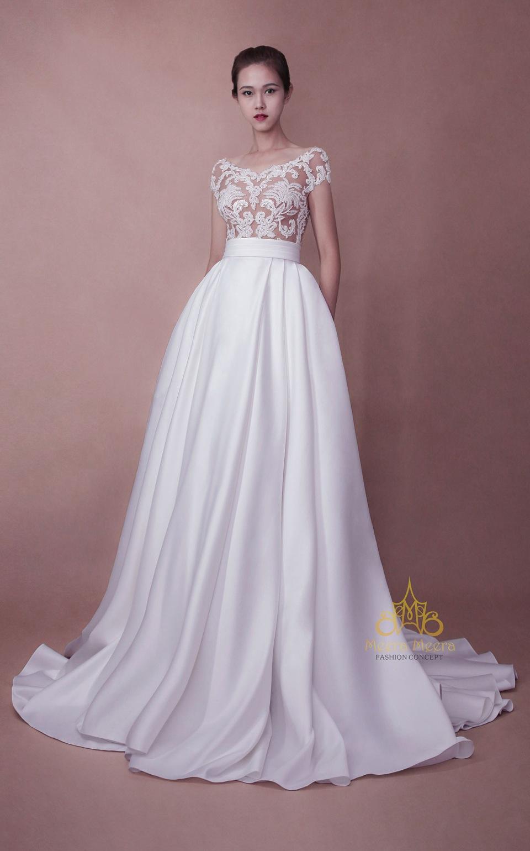ao cuoi meera meera fashion concept KH3954 ao cuoi tung xoe cong chua may ao cuoi dep