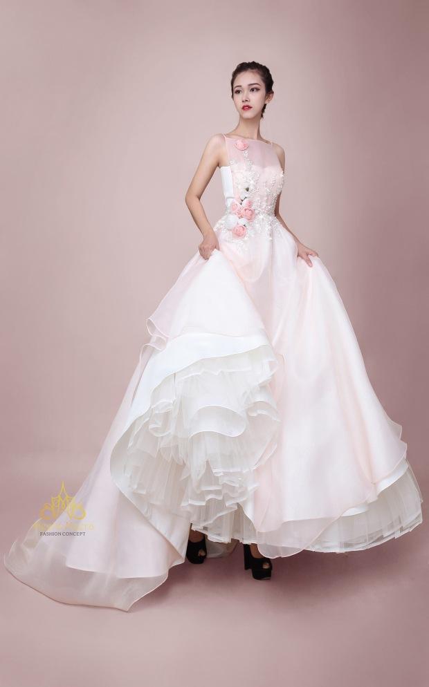 ao cuoi meera meera bridal KH3969 ao cuoi cong chua may ao cuoi dep meera meera fashion concept - Sao chép
