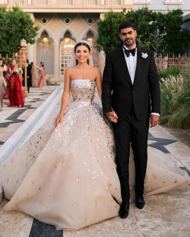 áo cưới công chúa elie saab