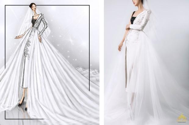 áo cưới độc bản