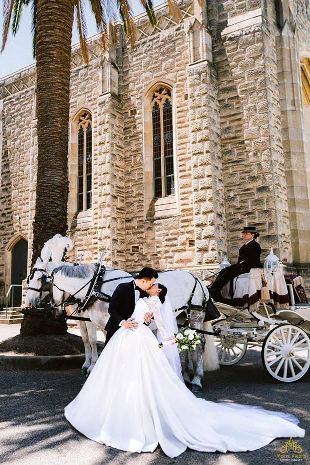 đám cưới cổ tích cô dâu meera meera