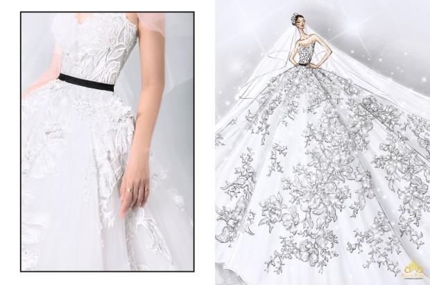 thiết kế váy cưới couture